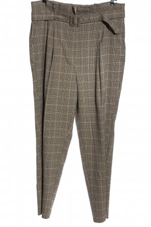 New Look Pantalón tipo suéter estampado a cuadros estilo «business»