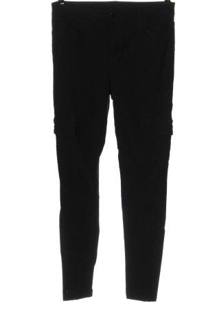 New Look Spodnie materiałowe czarny W stylu casual