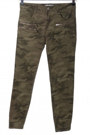 New Look Stretch Jeans Allover-Druck Casual-Look