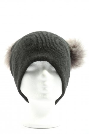 New Look Knitted Hat light grey-cream casual look