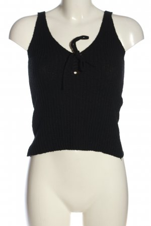 New Look Knitted Top black casual look