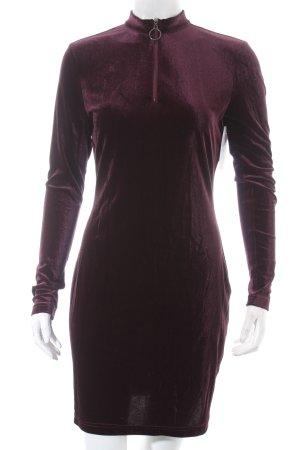 New Look Sweatkleid purpur