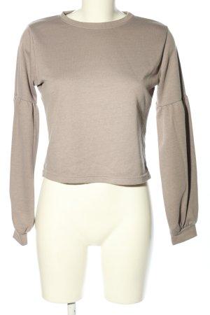 New Look Sweatshirt hellgrau Casual-Look