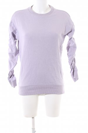New Look Sweatshirt lila Casual-Look