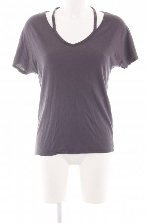 New Look T-Shirt lila Casual-Look