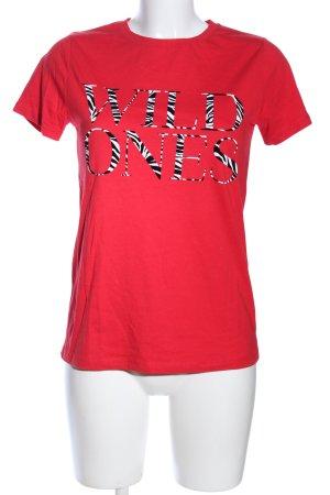 New Look T-Shirt Schriftzug gedruckt Casual-Look