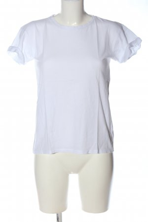 New Look T-Shirt weiß Casual-Look