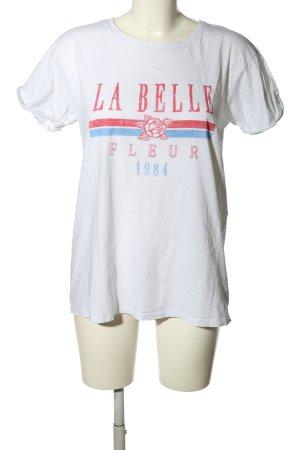 New Look T-Shirt Motivdruck Casual-Look