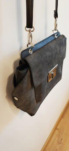 NEW LOOK Tasche Schultertasche schwarz grau