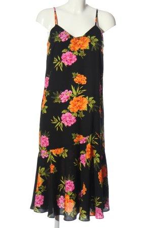 New Look Vestido tipo overol estampado floral look casual