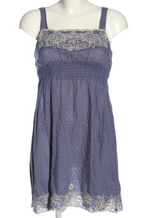 New Look Trägerkleid lila-weiß Casual-Look