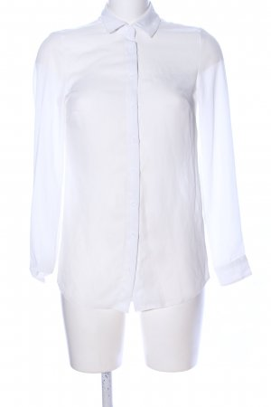 New Look Transparenz-Bluse weiß Business-Look