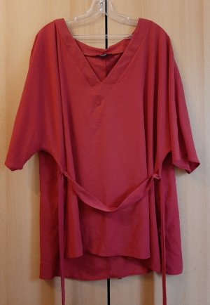 New Look Tunika Bluse Shirt Top Weite Ärmel Bindeband Chiffon