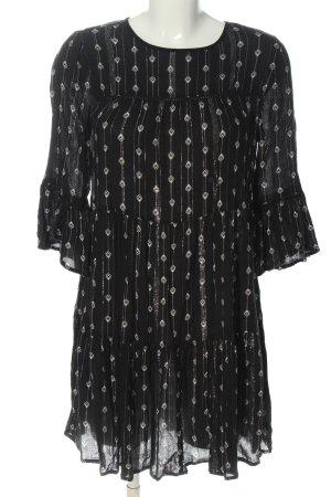 New Look Vestido estilo flounce negro look casual