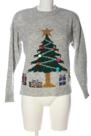 New Look Weihnachtspullover meliert Casual-Look