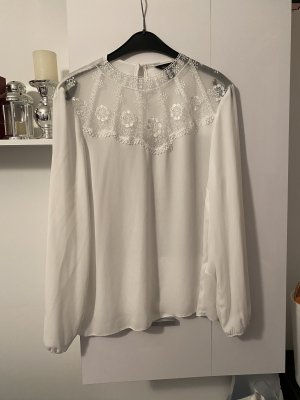 New Look Weiße Bluse L 40