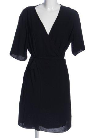 New Look Kopertowa sukienka czarny W stylu casual