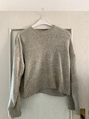 New Look Pull tricoté gris clair-gris