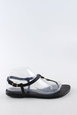 New Look Sandalo toe-post nero stile casual