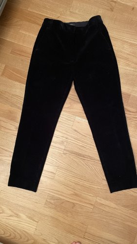 New MaxMara cord pants in dark blue 26 size