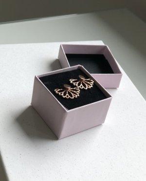 New One Kolczyk ze sztyftem w kolorze różowego złota