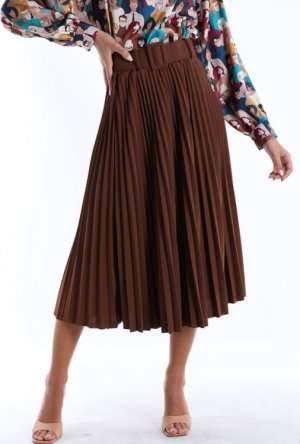 Pleated Skirt multicolored