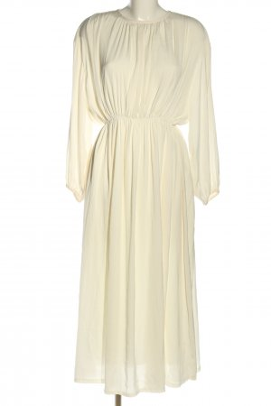 NEW REVIVAL Blusenkleid creme Casual-Look