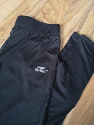 New Spirit Damen Sport Hose Leggings Running Fitness mit Tasche Active wear Größe M 36 38