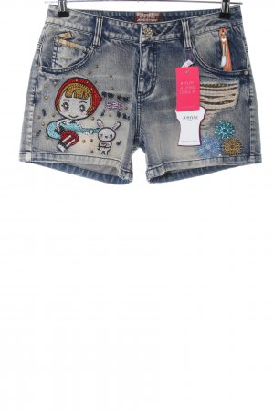 New Style Denim Shorts blue casual look