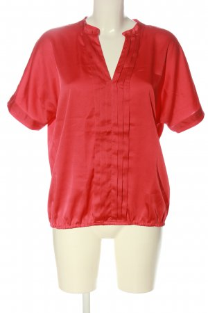 New York & Company Schlupf-Bluse rot Casual-Look