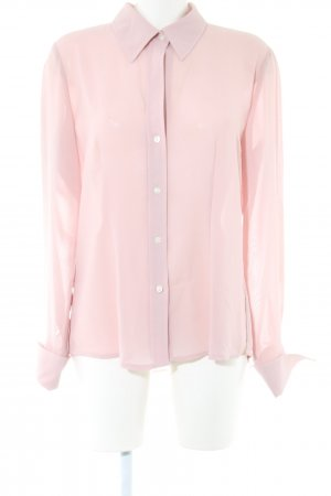 New York & Company Transparenz-Bluse pink Casual-Look