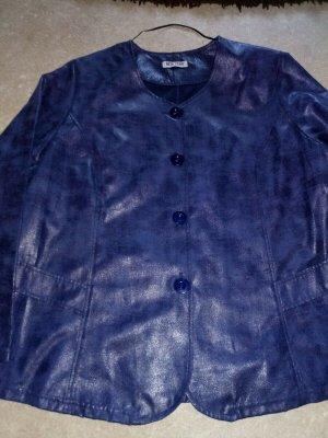 NEW York DA-Jacke in Lederoptik blau NEU Gr. XXL/42/44