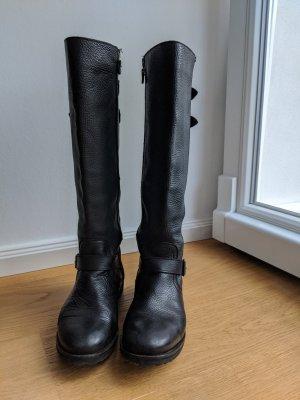 Hilfiger Denim Biker Boots black