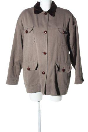 Übergangsjacke bronzefarben meliert Casual-Look