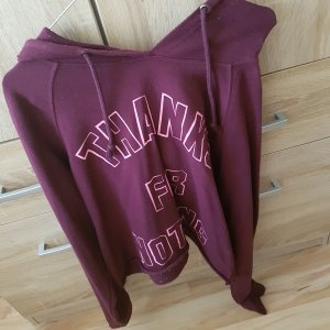 Hooded Sweater purple