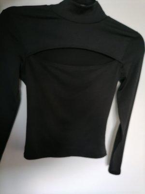 New Yorker Colletto camicia nero Poliestere