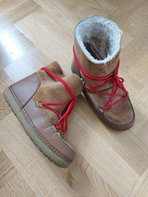 New Yorker Boots 38 39 Nowles Schnürung Keilabsatz wedge marantish