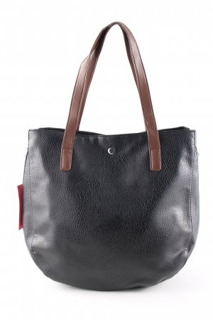 Shopper black-brown casual look