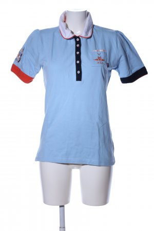 New Zealand Auckland Polo-Shirt Motivdruck Casual-Look