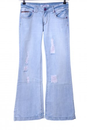 Newplay Boot Cut Jeans blau Casual-Look