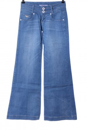 Newplay Jeansy Marlena niebieski W stylu casual