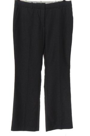 Next Spodnie garniturowe czarny Na całej powierzchni W stylu biznesowym