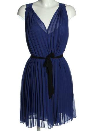 Next Vestido babydoll azul-negro Poliéster