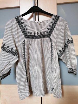 Next Short Sleeved Blouse black-light grey