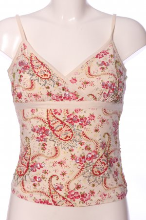 Next Camisoles cream-pink mixed pattern casual look
