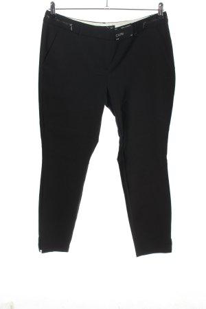 Next Spodnie Capri czarny W stylu casual