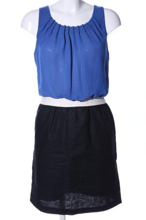 Next Cocktailkleid blau-schwarz Casual-Look