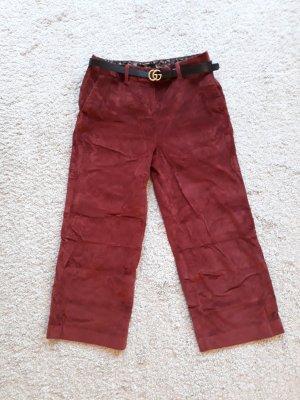 Next Pantalone culotte rosso scuro