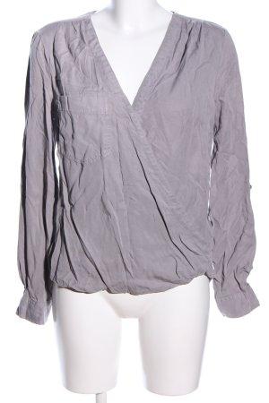 Next Camicia blusa grigio chiaro stile casual