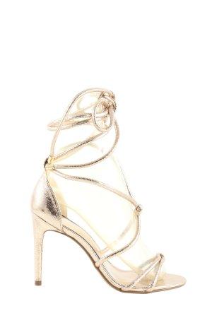 Next High Heel Sandaletten silberfarben Elegant